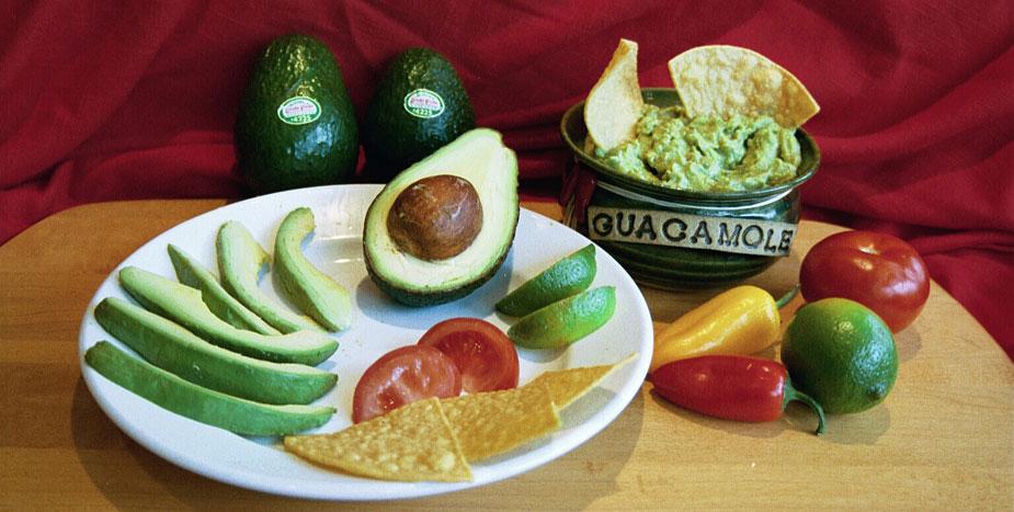 guacamole avocados